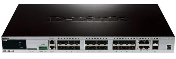 26-port Gigabit L2 Stack-Managed D-Link DGS-3420-26SC /
