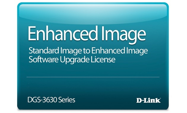 Standard Image to Enhanced Image Upgrade License D-Link DGS-3630-52PC-SE-LIC