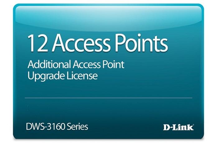 Giấy phép nâng cấp 12 điểm truy cập D-Link DWS-316024PCAP12-LIC