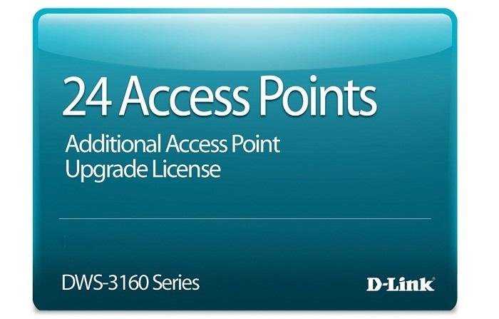 Giấy phép nâng cấp 24 điểm truy cập D-Link DWS-316024TCAP24-LIC