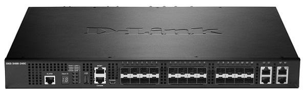24-Port Layer 3 Stackable 10 port Gigabit Managed Switch D-Link DXS-3400-24SC / EEI