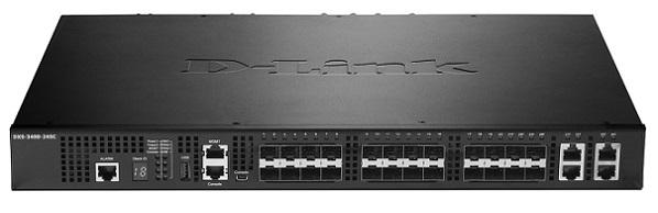 24-Port Layer 3 Stackable 10 port Gigabit Managed Switch D-Link DXS-3400-24SC / ESI