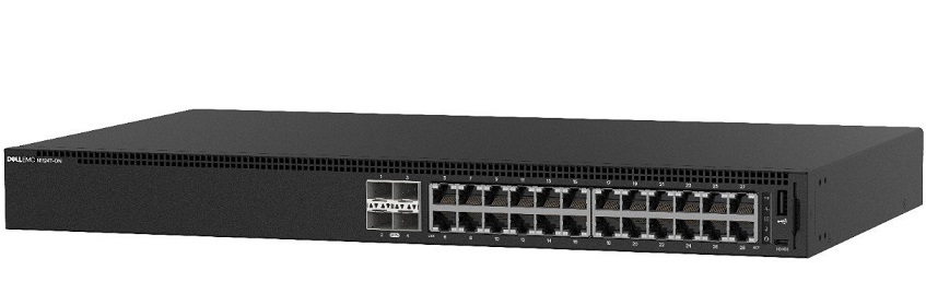 24-Port 10/100 / 1000Mbps Managed Switch DELL N1124T-ON
