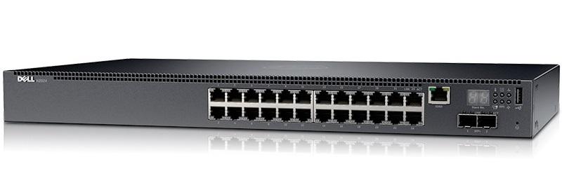 24-port Gigabit Managed Switch DELL N2024