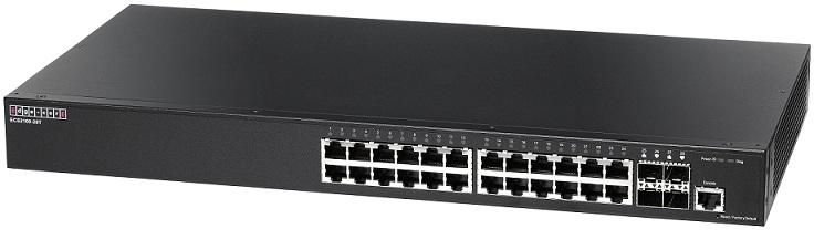 24-Port Gigabit Web-Smart Pro Switch Edgecore ECS2100-28T