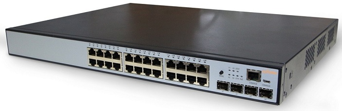 24-Port Gigabit PoE L2 Switch 802.3af / at IgniteNet FNS-POE-24