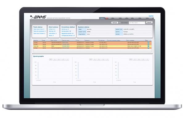 Hệ thống quản lý mạng không dây LigoWave WNMS