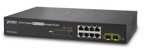 Switch PoE 8 cổng 10/100 / 1000Mbps WETSD-10020HP