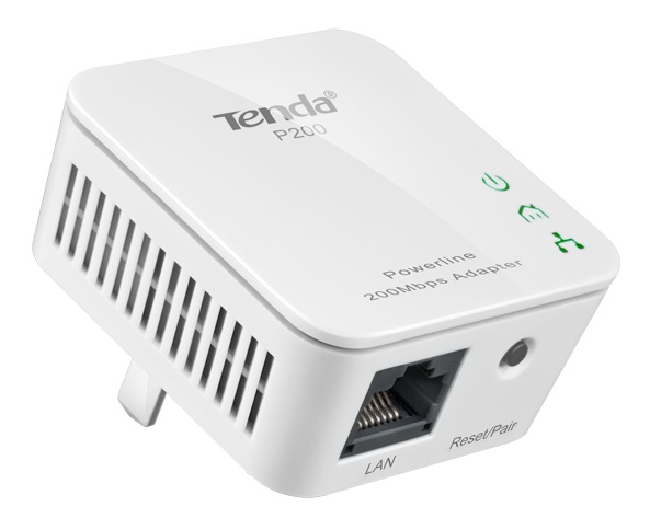 Internet signal transmission via power line TENDA P200