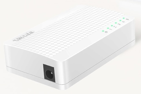 Switch 5 cổng 10 / 100Mbps TENDA S105