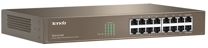 16-port 10/100 / 1000Mbps Switch TENDA TEG1016D