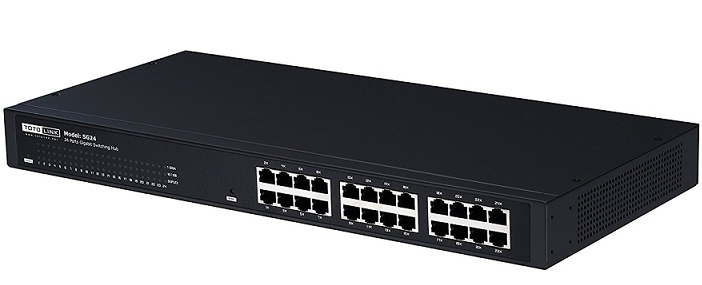24-Port Gigabit Unmanaged Switch TOTOLINK SG24