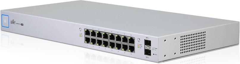16-Port Switch PoE Gigabit 24V 802.3af / at UniFi US-16-150W