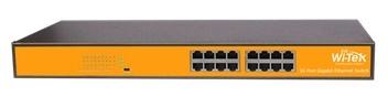 16 ports 100Mbps Switch WITEK WI-SF116S
