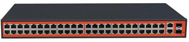 48FE + 2GE + 2SFP Switch WITEK WI-SF152GF