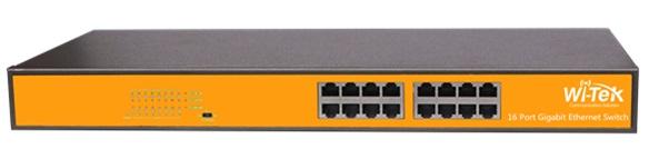 Bộ chuyển mạch 16 cổng 100 / 1000Mbps WITEK WI-SG116