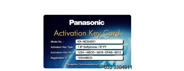 Activation key IP softphone hoặc IP-PT PANASONIC KX-NCS4201