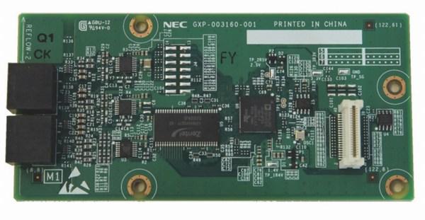 Các card và License dùng cho tổng đài điện thoại NEC SL2100