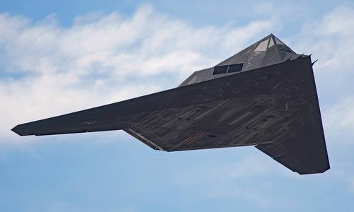 Mỹ tái sử dụng phi cơ tàng hình F-117 để ném bom IS năm 2017