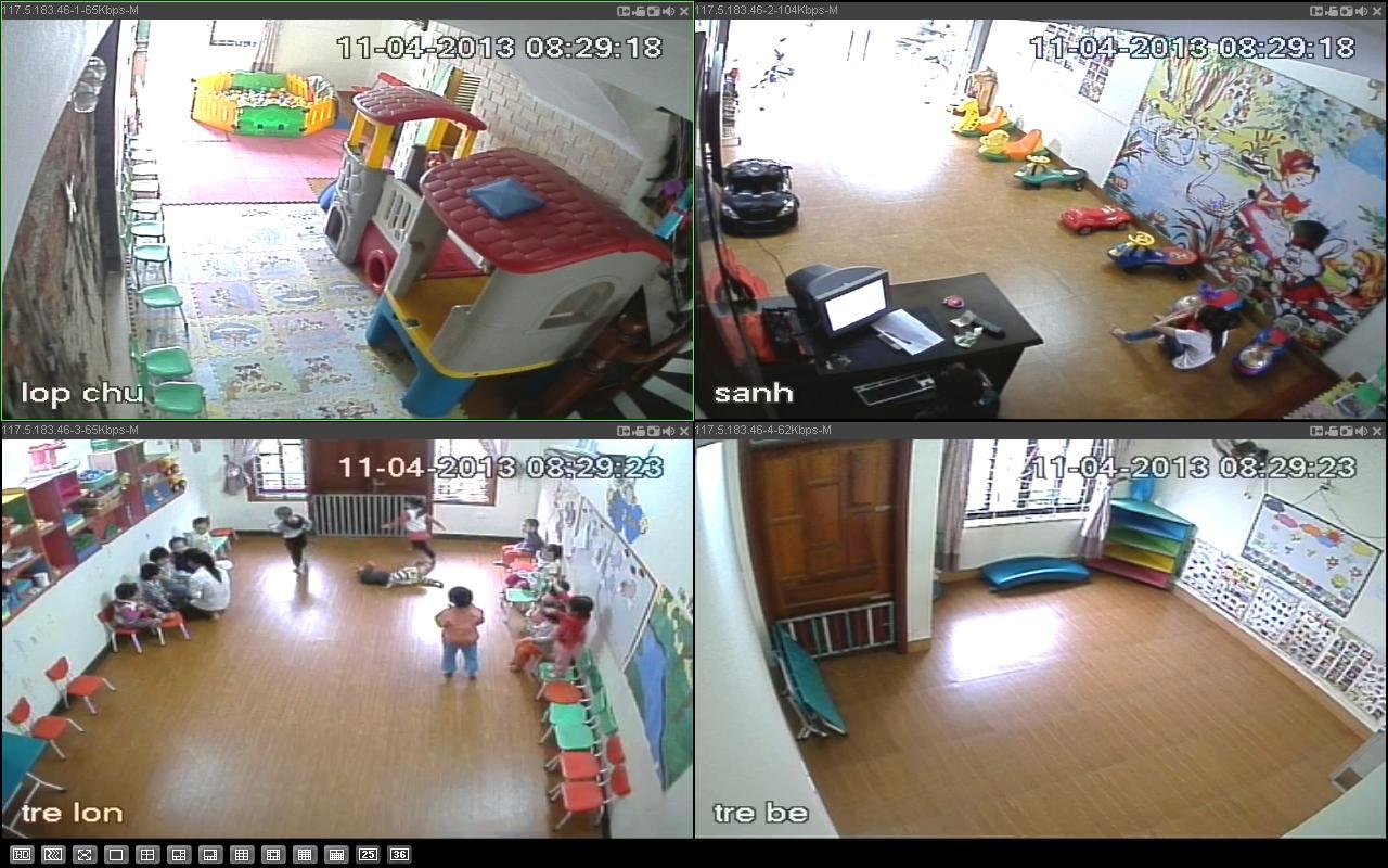 Lắp đặt camera giám sát ở nhà trẻ