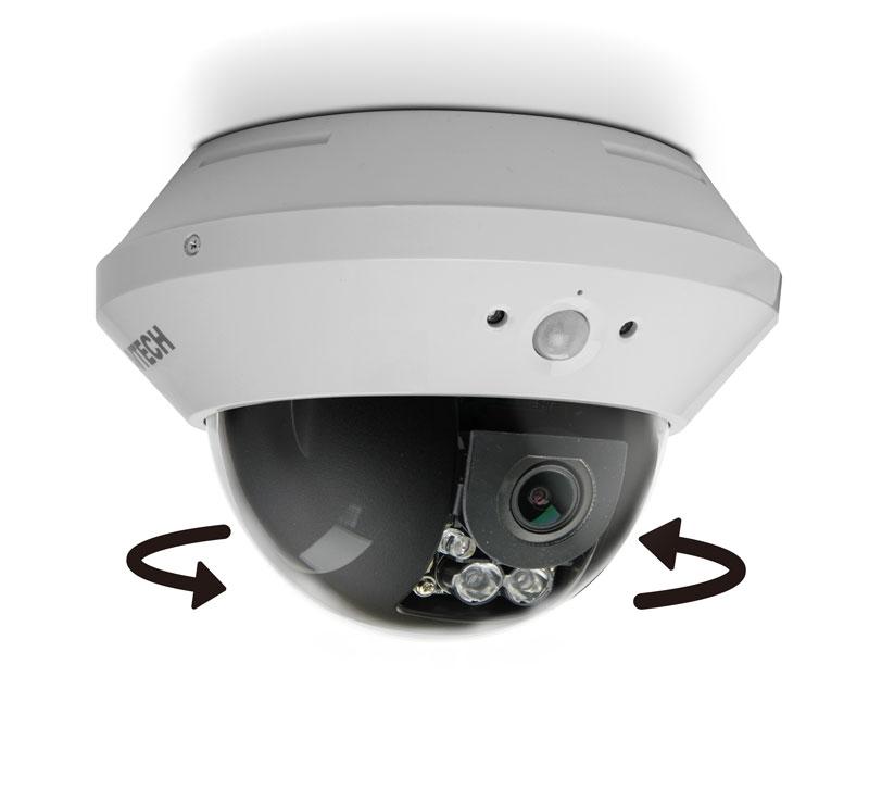 HD-TVI Dome Infrared Camera 2.0 Megapixel AVTECH AVT1303AP