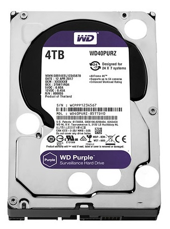 Ổ cứng chuyên dụng 4TB WESTERN PURPLE WD40PURZ