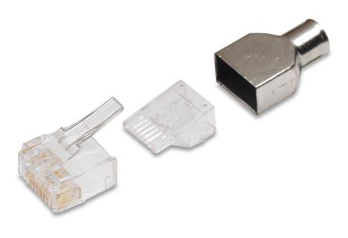 RJ45-Modular Plug COMMSCOPE CAT6 connector