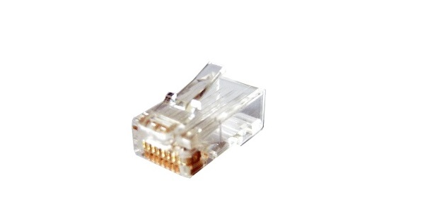 RJ45 Cat.5e UTP HOSIWELL 21411 network cable connector