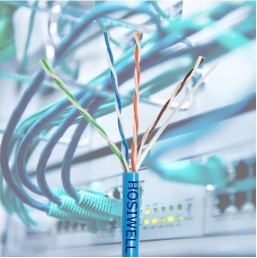 Cat.5e UTP HOSIWELL 30002-BL network cable