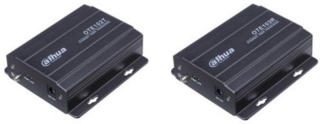 Chuyển đổi quang điện thoại DAHUA OTE103T / OTE103R