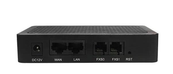 Analog VoIP Gateway Dinstar DAG1000-2S