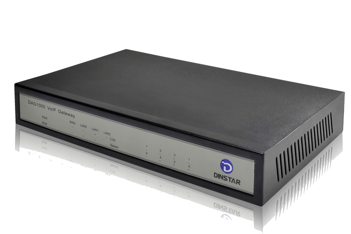 Analog VoIP Gateway Dinstar DAG1000-4S