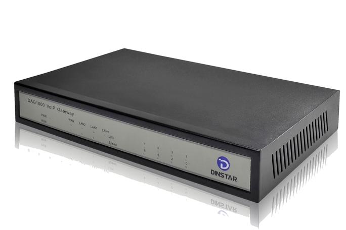 Analog VoIP Gateway Dinstar DAG1000-8S