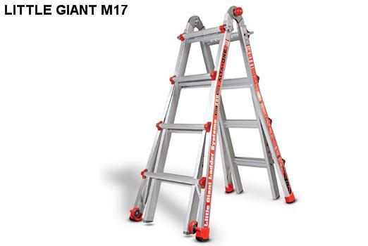 Thang nhôm rút Little Giant Alta-One Model 17