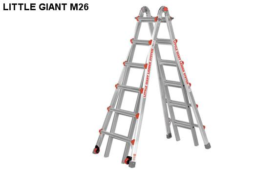 Thang nhôm rút Little Giant Classic Model 26