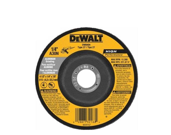 100x6x16 mm T27 Dewalt metal grinding wheel DWA4500IA