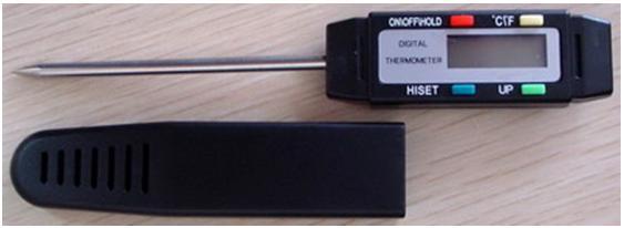 Thiết bị đo nhiệt độ kèm chuông báo HMS-222BH