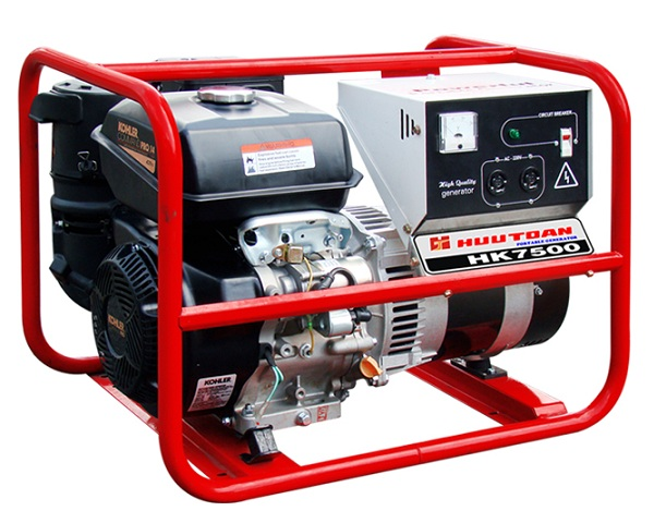 Generator 6KVA capacity Kohler HK7500