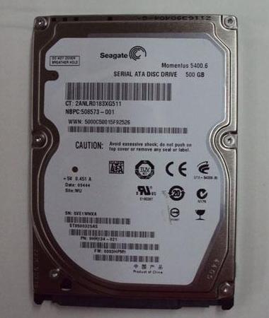 Hard Drive-Hard Drive Barracuda® 3.5-inch Seagate 500GB SATA II 7200rpm