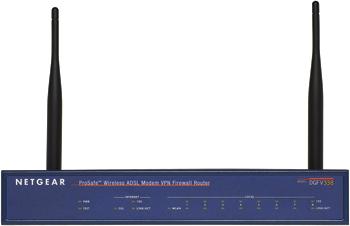 ProSafe 802.11G wireless ADSL modem VPN firewall router - DGFV338
