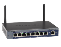 ProSafe® Wireless-N 8-port Gigabit VPN Firewall - FVS318N