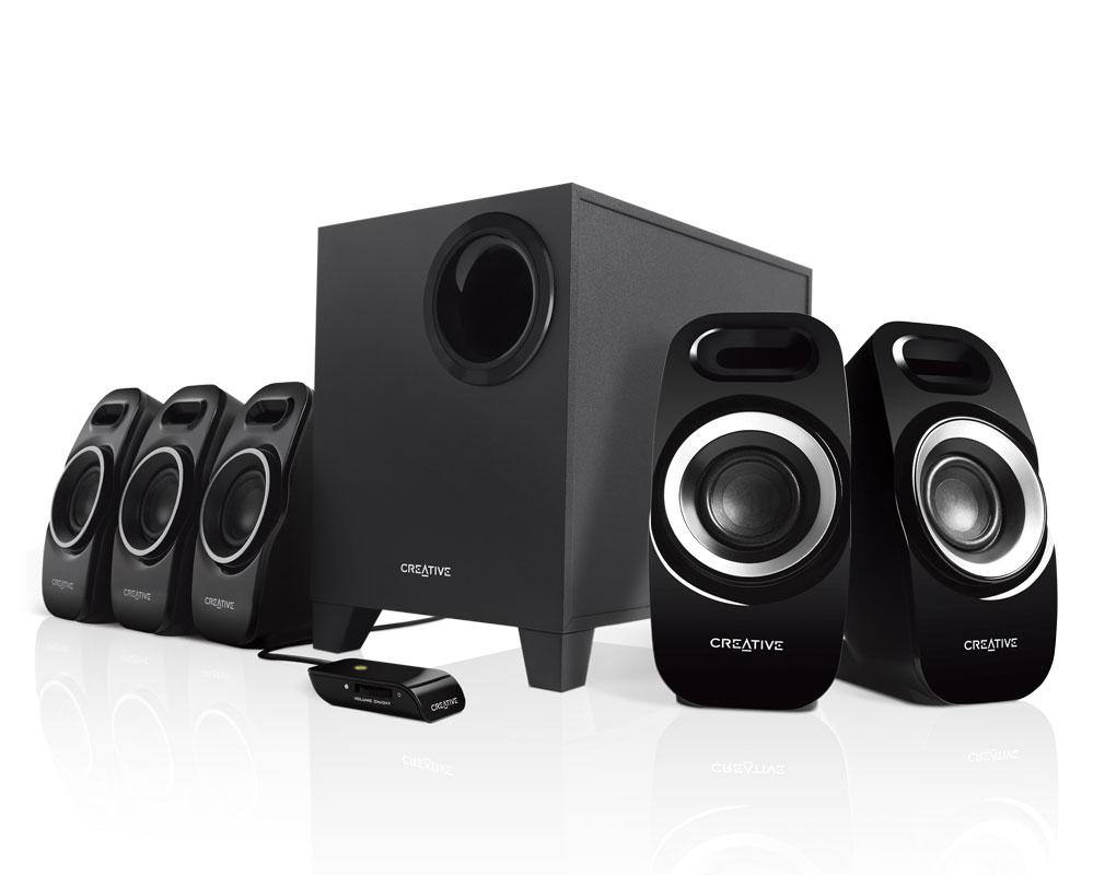 Creative computer speaker SPP5.1-T6300 / BLK