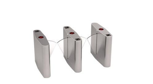 Cổng xoay an ninh tự động Flap Barrier Foxcom FT8003