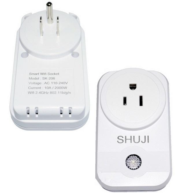 Ổ cắm điện thông minh SHUJI SK-206