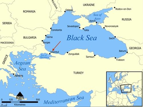 Tàu chiến Nga, Mỹ chạm mặt ở eo biển Thổ Nhĩ Kỳ