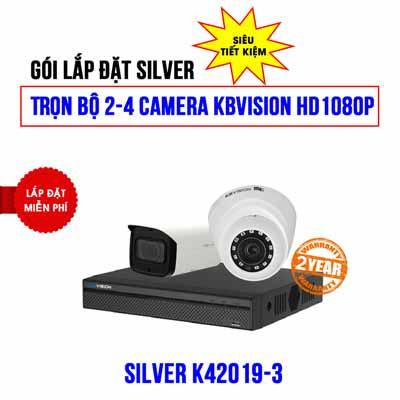 Trọn bộ 2 camera KBVISION HD1080P cho trường học