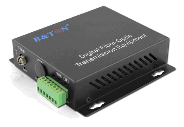 2-channel Optical Converter Audio Converter 2 channels BTON BT-2AF-T / R