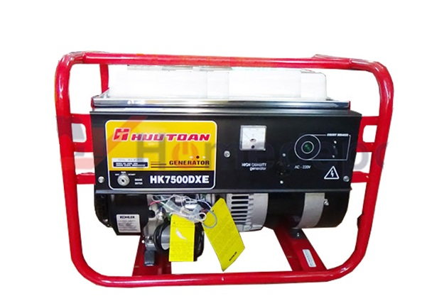 Generator with a capacity of 6KVA Kohler HK7500DXE