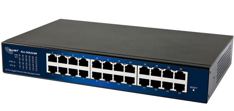 24-Port Gigabit Managed Switch ALLNET ALL-SG8324M